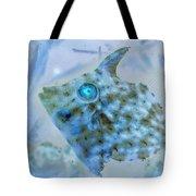 Nautical Beach And Fish #4 Tote Bag
