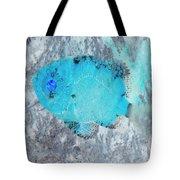 Nautical Beach And Fish #8 Tote Bag