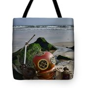Nautical Collection Found On The Beach Tote Bag