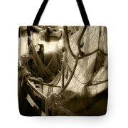 Nautical Dreams In Sepia Tote Bag