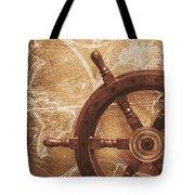 Nautical Exploration  Tote Bag