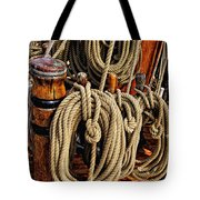 Nautical Knots 16 Tote Bag by Mark Myhaver