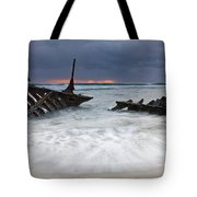 Nautical Skeleton Tote Bag