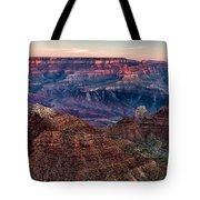 Navajo Point Sunrise Tote Bag
