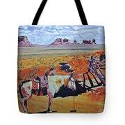 Navajo Ponies Tote Bag