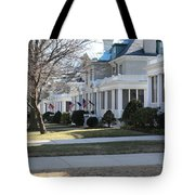 Naval Academy - Captains Row Tote Bag