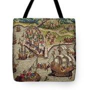 Naval Combat Tote Bag