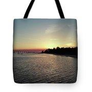Navarre Florida Sunset Tote Bag