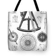 Navigational Instruments, E.g. Sextant Tote Bag