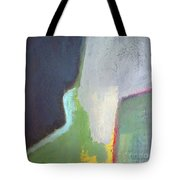 Navy Gray Green Abstract Tote Bag