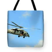 Navy Helicopter Tote Bag