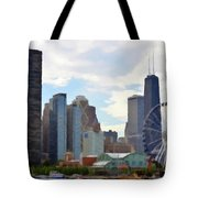 Navy Pier Chicago Illinois Tote Bag