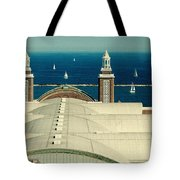 Navy Pier Chicago Tote Bag