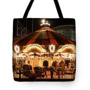 Navy Pier Merry-go-round Chicago Il Tote Bag
