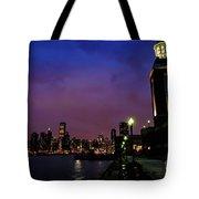 Navy Pier Sunset Tote Bag