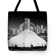 Navy Pier Wheel Tote Bag