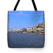 Naxos Greece Harbor Tote Bag