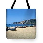 Nazara Beach Tote Bag