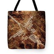 Nazca Hummingbird Tote Bag