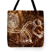 Nazca Monkey Tote Bag