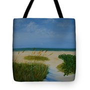 Nc Beach Tote Bag