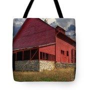Nc Red Barn Tote Bag