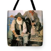 N.c. Wyeth: The Pay Stage Tote Bag