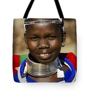 Ndebele Maiden Tote Bag