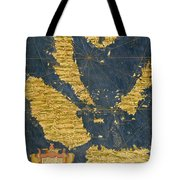 Indochinese Peninsula And Major Islands Of Indonesia Tote Bag