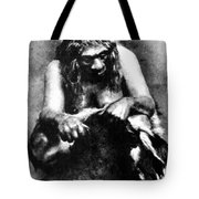 Neanderthal Woman Tote Bag