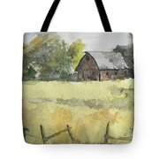 Near Cedar Falls, Ia Tote Bag