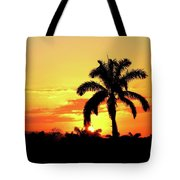 Near Perfect Palm Tree Tote Bag