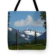 Near Sparwood British Columbia  Tote Bag