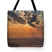 Near Sunset Tote Bag