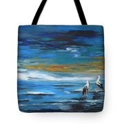 Near The Jetty Tote Bag
