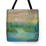 Near To Sunset Tote Bag