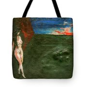 Near Wall II Tote Bag