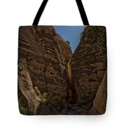 Nearing The Slot Canyon - Tent Rocks Tote Bag