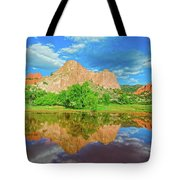 Nearly 2 Million People Rollick In This World-famous City Park Every Year.  Tote Bag