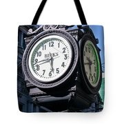 Nearly A Quarter To Six Tote Bag