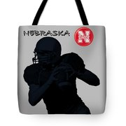 Nebraska Football Tote Bag