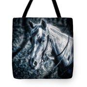 Nebraska Rodeo Roping Horse... Tote Bag