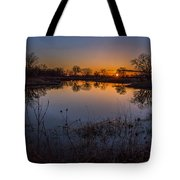 Nebraska Sunset Tote Bag