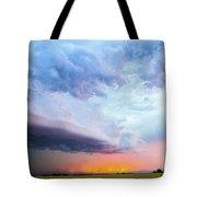 Nebraska Thunderstorm Eye Candy 021 Tote Bag