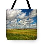 Nebraska Wheat Fields Tote Bag