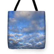 Nebraskan Altocumulus Clouds Tote Bag