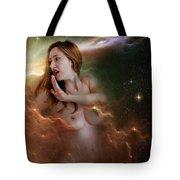 Nebula Nude 2 Tote Bag