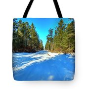 Necedah Wildlife Refuge, As Far As You Can See Tote Bag