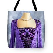 Necklace And Dress Tote Bag