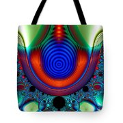 Necklace Of Knowing Tote Bag by Peter R Nicholls